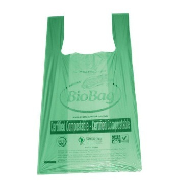 100% Compostable Shopping Bag / Biodegradable Plastic Bag