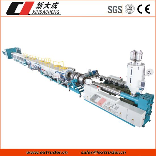 280mm-630mm Large Diameter Water Supply Plastic Pipe HDPE Pipe Extrusion Line