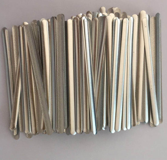 Factory Wholesale Aluminum Nose Wire With Hot Melt Glue/512 Glue /513 Glue Apply to Face Mask