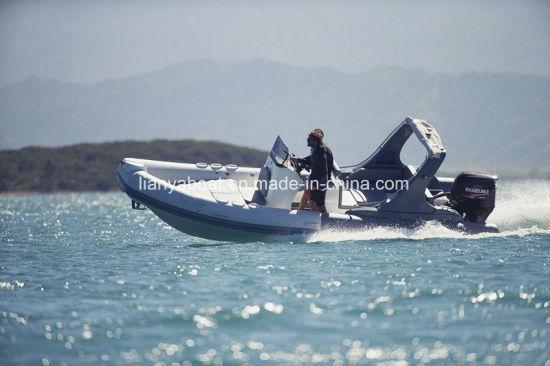 Liya 6.6m Deluxe Rib Boat Rigid Inflatable Fishing Boats
