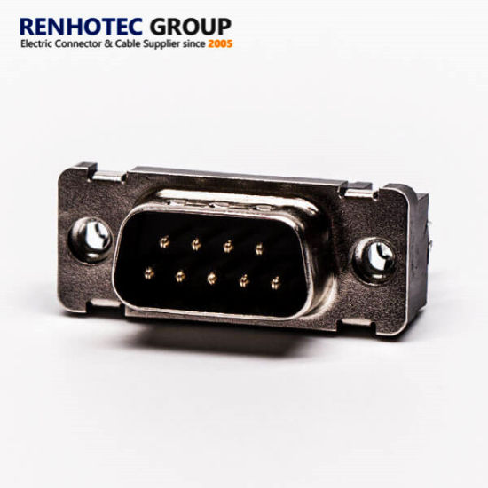 D Sub 9 Pin RS232 Connector