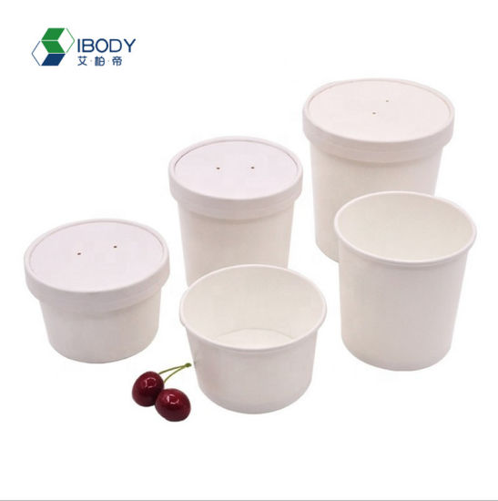 15 Off Custom Logo New Products Eco Friendly Kitchen Accessories Ice Cream Soup Cup Dessert Bowls Disposable Kraft Paper Cups China Fruit Container And Salad Container Price Made In China Com