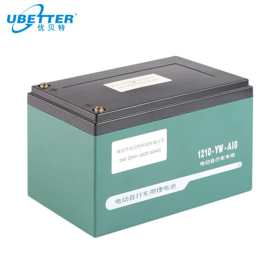 24V 20ah Ebike Battery LiFePO4 Battery Pack Lithium Battery with BMS
