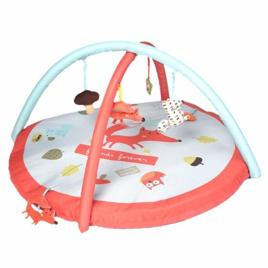 Labebe - Baby Playmate Activity Gym (Orange Fox) Playmat pictures & photos