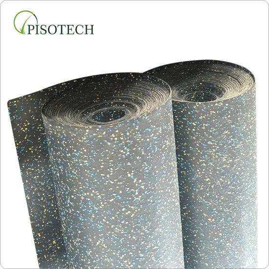 3mm 5mm 10mm Fitness EPDM Granule Cheap Rubber Roll Flooring for Gym