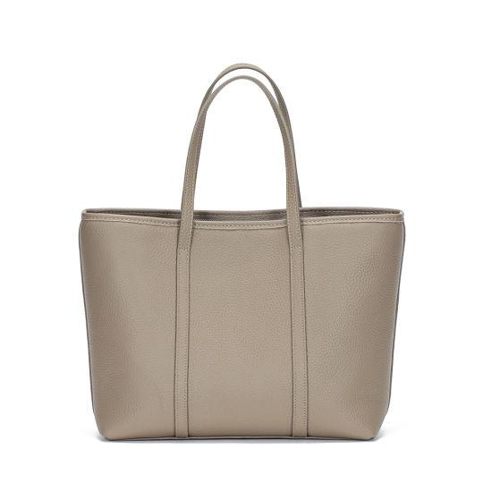 2020 New Fashion Genuine Leather Ladies Grey Tote Handbags