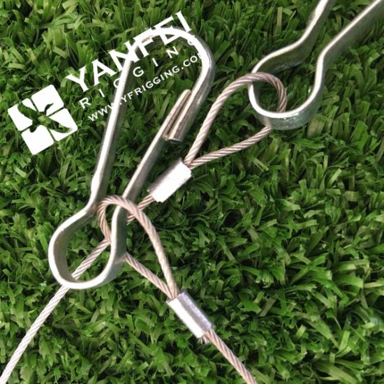 Ss 316 Wire Rope Sling with Soft Eye Simplex Hook pictures & photos