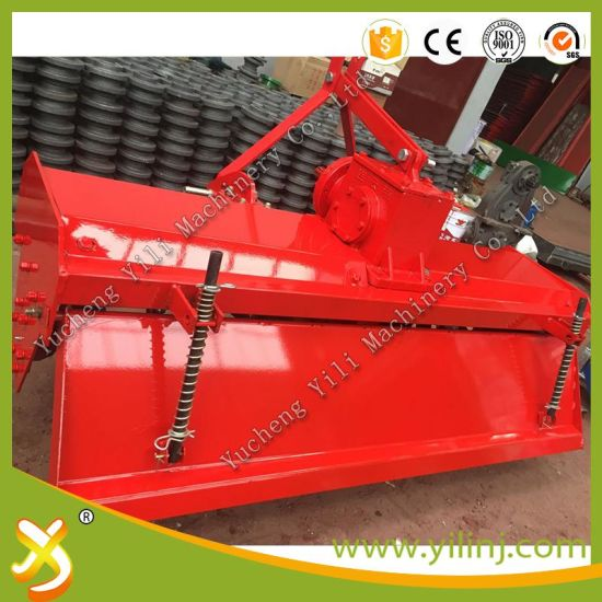 "Hot Sale ISO Approved Chain&Gear Drive ""Rotary Tiller"" pictures & photos"