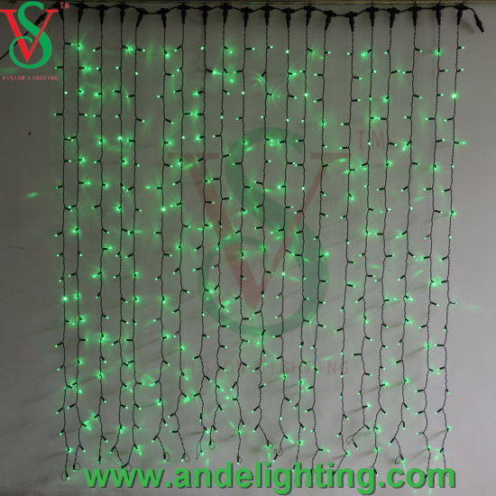Copper Wire Connectable LED Curtain Lights pictures & photos