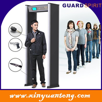 Walk Through Metal Detector Xyt2101LCD for Government, Police, Airport, Hotel, Bank, University, Exhibition Use pictures & photos