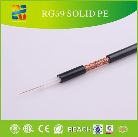 Hot Sale Rg59 Coaxial Cable with ISO\ETL\CE\RoHS pictures & photos