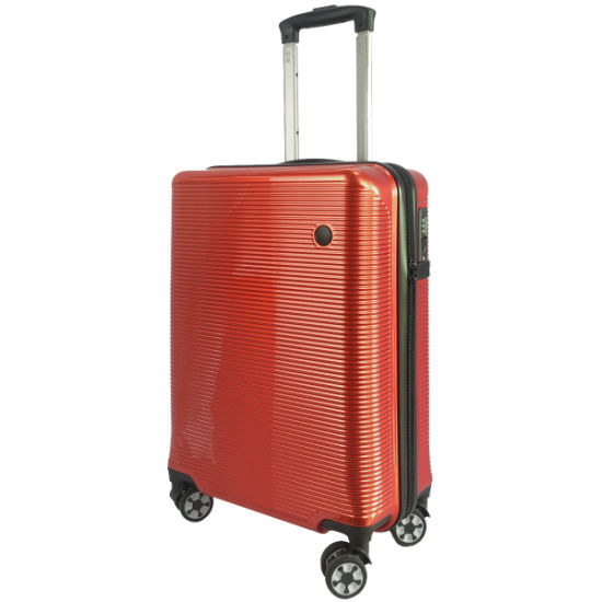 Colorful ABS+PC Hot Sale Custom Trolley Luggage Travel Suitcase Set