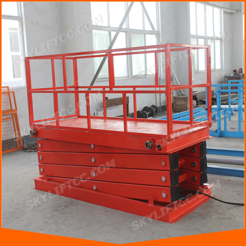 Hydraulic Electric Scissor Lifting Equipment pictures & photos