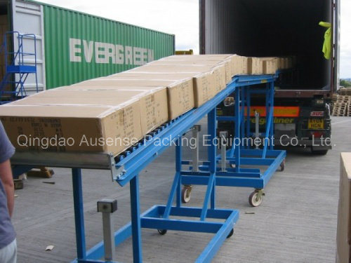 Gravity Vehicle Unloading Roller Conveyor pictures & photos