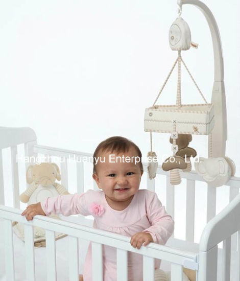 Organic Baby Crib Musical Movement Hang Bell Toy pictures & photos