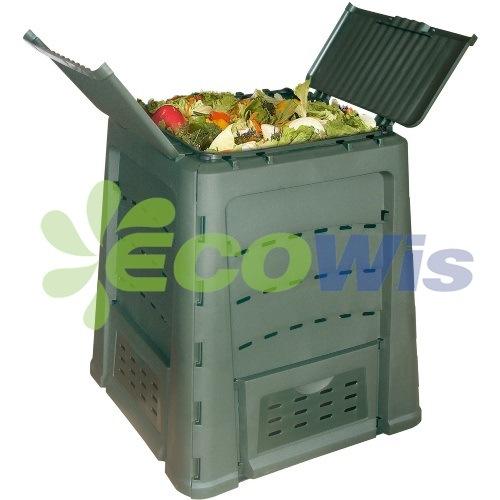 Plastic Compost Bin Garden Yard Box