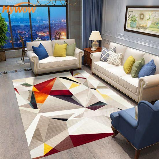 Modern Printed Rugs and Carpet Room Floor Carpet Alfombra