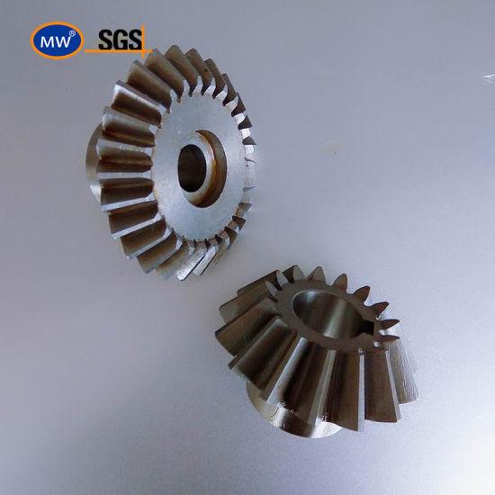 MW Wholesale Straight Bevel Gear Bevel Pinion Gear