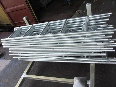 Ringlock Scaffolding Steel Ladder Brakect pictures & photos
