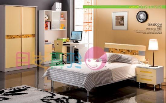 2012 Colourful Children Bedroom Furniture Set (820)