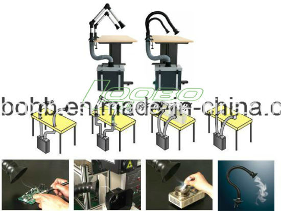 Loobo Qx320 Soldering Fume Extractor / Single or Two Fume Extraction Arm pictures & photos
