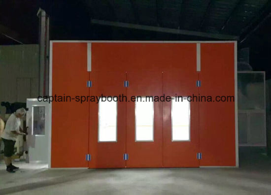 CE High Quality Riello Burner Heating Car Painting Room/Spray Booth pictures & photos