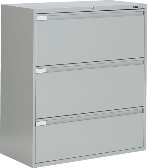 Superb Steel Storage Kd Structure 3 Drawers Lateral Filing Cabinet