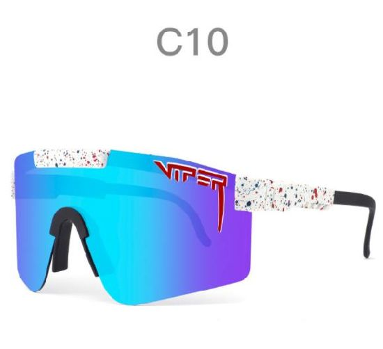 New Arrival Big Size Changeable Temple Sporty Pit Viper Protective Cycling Polarized Sunglasses