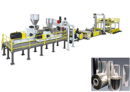 PLA Biodegradable Sheet Machine Pet Sheet Extruder Machine for Food Package, Protection and Printing