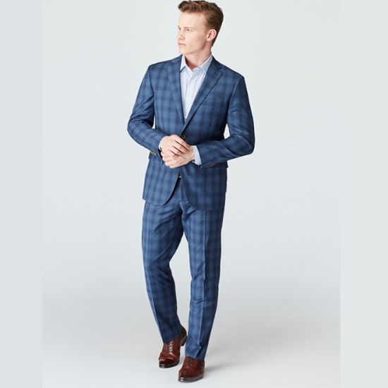 Factory Custom Striped Business Suits for Men pictures & photos