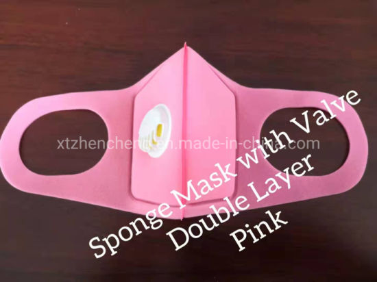 Professional Custom Fashion Durable Washable Sponge Dust Mask