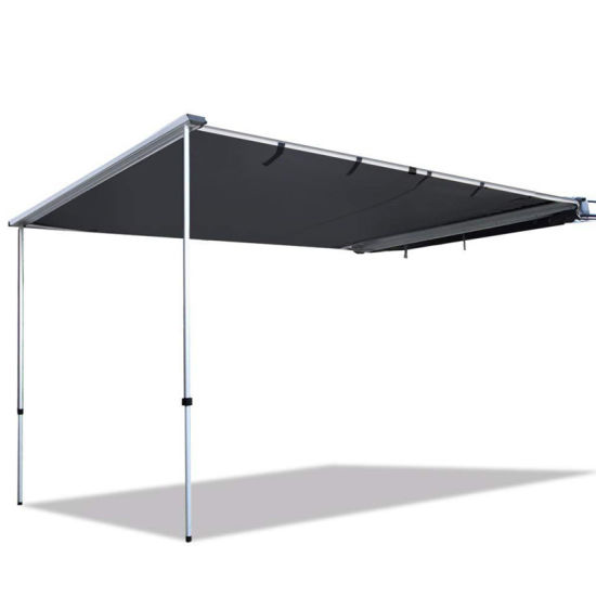 Trustmade 6'*6' Car Side Awning Rooftop Pull out Tent Shelter Black