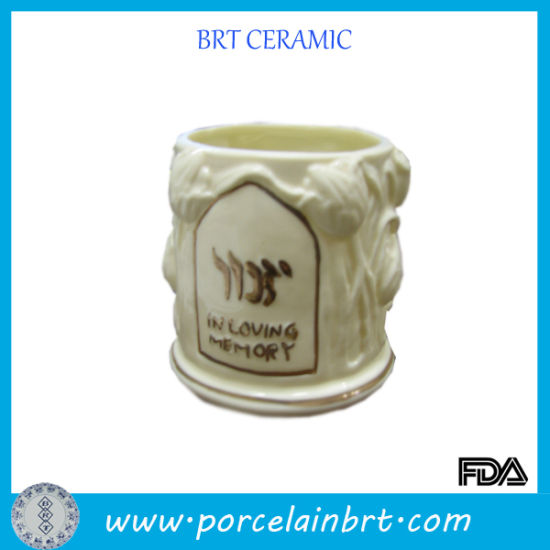 Particular Memory Ceramic Candle Holder pictures & photos