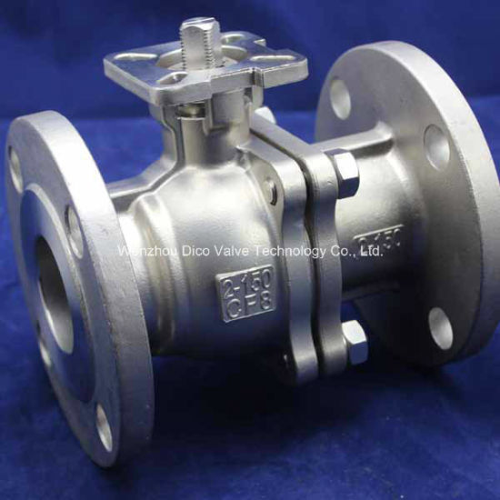 High-Platform Floating Flange Ball Valve pictures & photos