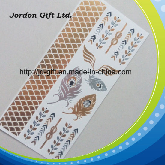 China Non-Toxic Waterproof Flash Temporary Tattoo Sticker - China ...