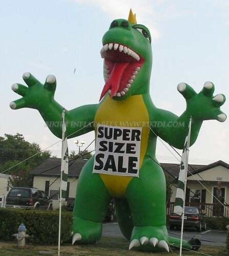 Giant Advertising Inflatable Dinosaur, Cold Air Balloons K2028