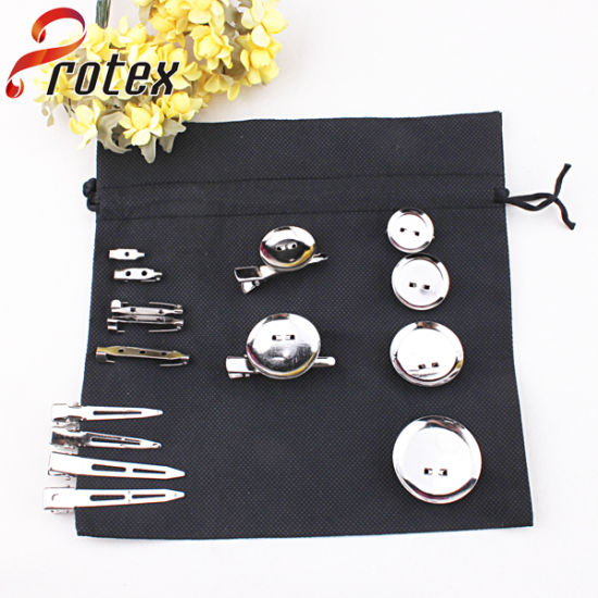 Different Shapes of Hairclip for DIY, Clear Metal, Hair Accessories
