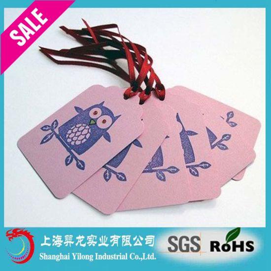 Environment Friendly Wholesale Garment Paper Hang Tags