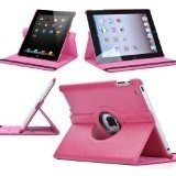 360 Degree Rotate Leather Case for iPad pictures & photos