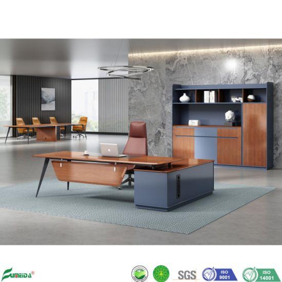 Modern Furniture L Shaped Wooden Office Manager Desk