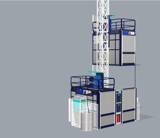 OEM Aviable Building Hoist Construction Hoist Passenger Materials Hoist From Manufacturer CE Approved
