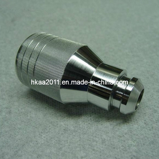 Custom Made Stainless Steel Knurled Car Gear Shift Lever Knob