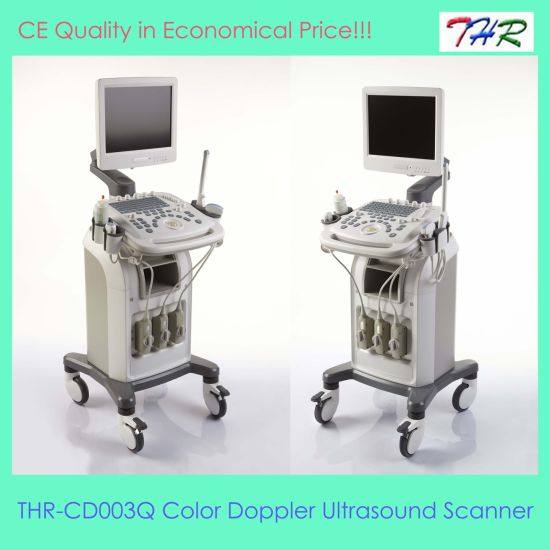 CE Quality 3D Color Doppler Ultrasound Scanner (THR-CD003Q) pictures & photos
