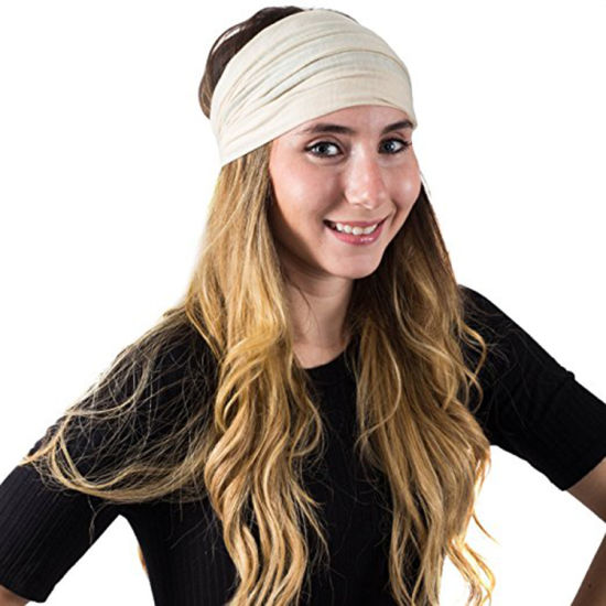 5cee1a5efd33 China Women Lady Girl Wide Yoga Sport Gym Headband Stretch - China ...