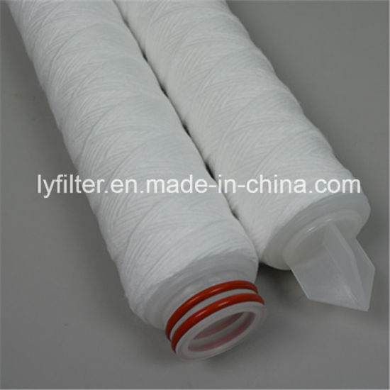 Polypropylene String Wound Water Filter Cartridge with End Cap 226/222/Fin/Flat