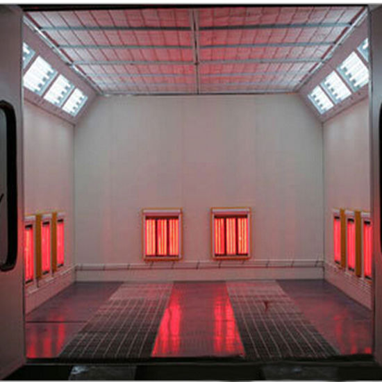 China Quick Heating Painting Room Infrared Paint Booth