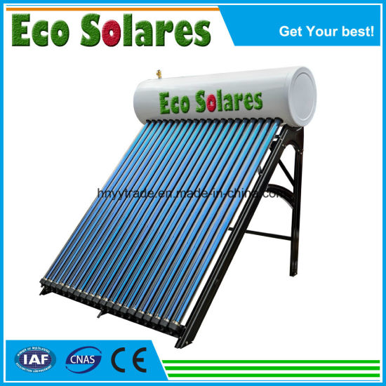 Fhigh Pressure Integrated Solar Water Heater with Heat Pipe Tubes pictures & photos