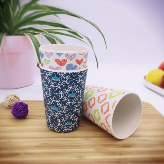 Biodegradable Bamboo Fiber Cup with Eco-Friendly (YK-BC4151) pictures & photos