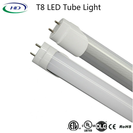 4FT 18W Electronic & Magnetic Ballast Compatible LED Tube Light pictures & photos