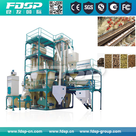 High Efficiency Animal Feed Project with Manual Packing (SKJZ4800) pictures & photos